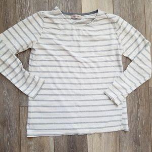 Tops - Basic geometric striped t shirt